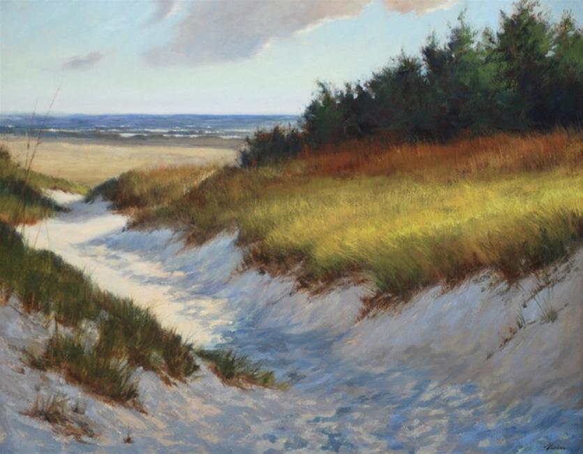 Erickson Artist Painting